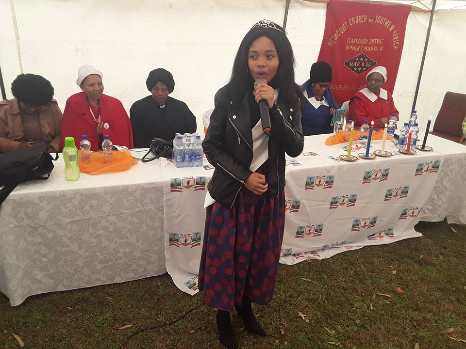 Miss Nyandeni 2018 giving support to women